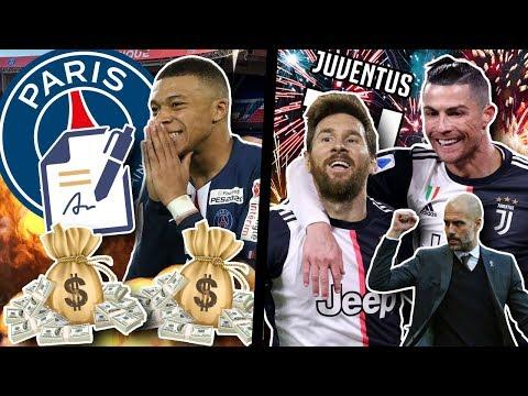 Őrült tervek a Juvénél: Messi-CR támadóduó?