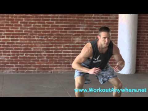 Side Shuffle Exercise   Workout Anywhere