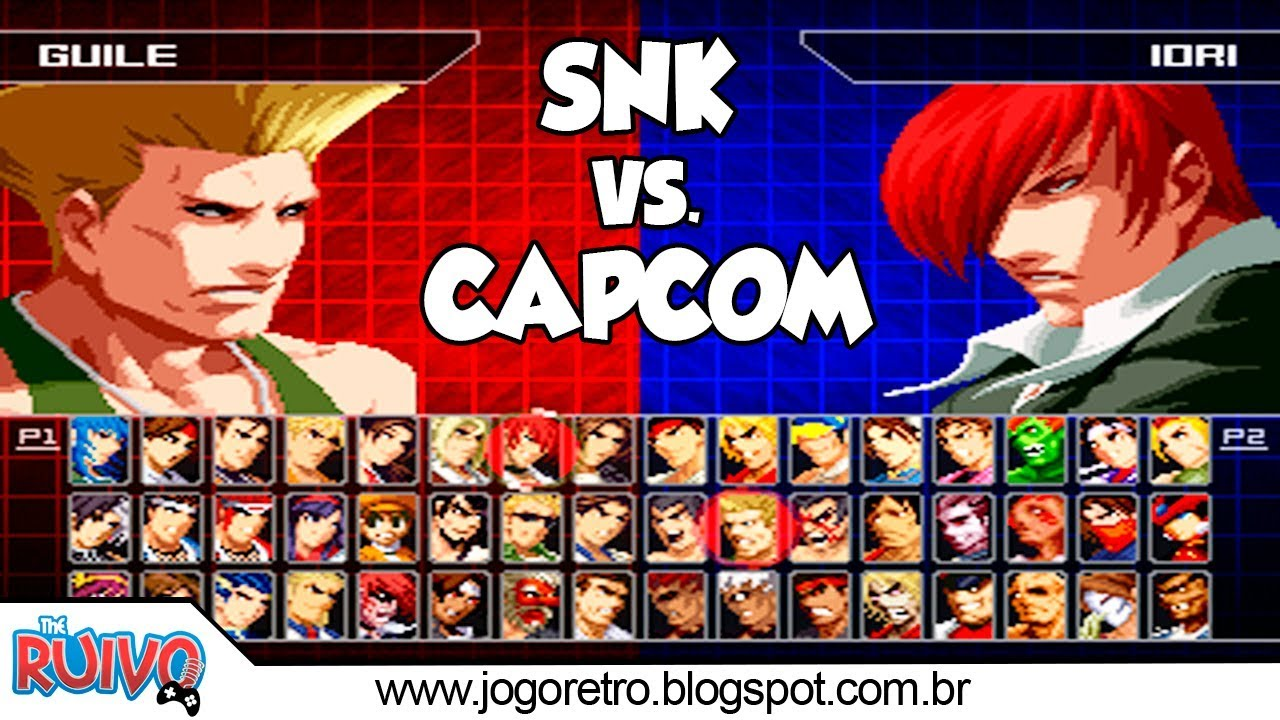 snk vs.capcom ultimate mugen ps2