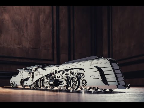 Dazzling Steamliner «The most beautiful construction set in the world» on Kickstarter 2019