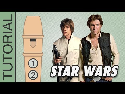 Star Wars Main Theme Recorder Notes Tutorial Youtube