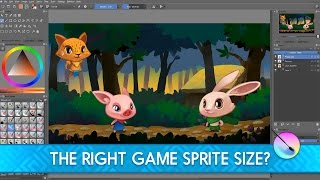 Game sprites: What's the right resolution?