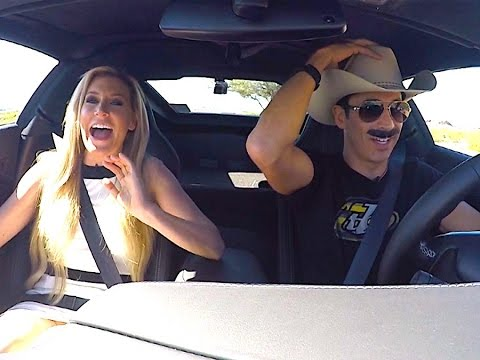 INDYCAR Driver Helio Castroneves Pranks Miss California