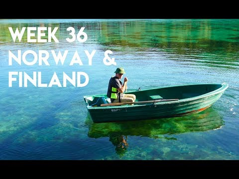 Lofoten Islands, Norway and Meeting Abby's Distant Family in Finland!