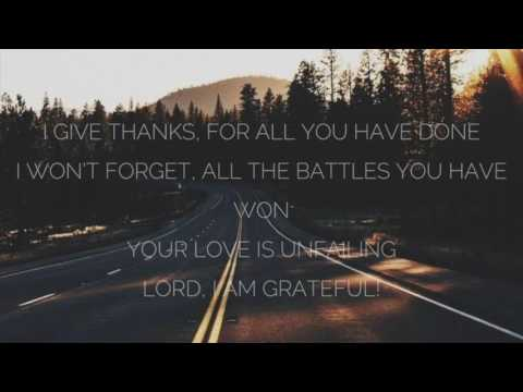 Grateful - Elevation Worship (Lyrics)