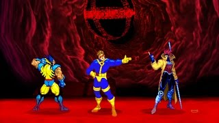 Marvel VS Capcom 2 - Wolverine/Gambit/Cyclops - Expert Difficulty Playthrough