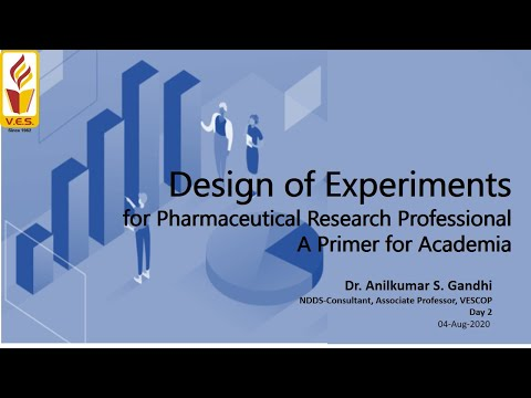 Day 2: Design Of Experiments In Pharmaceutical Research & Development A Primer For Academia