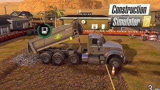 Construction Simulator 2 US | #3 Mack Granite & Meiller con viajes de Grava y Tierra