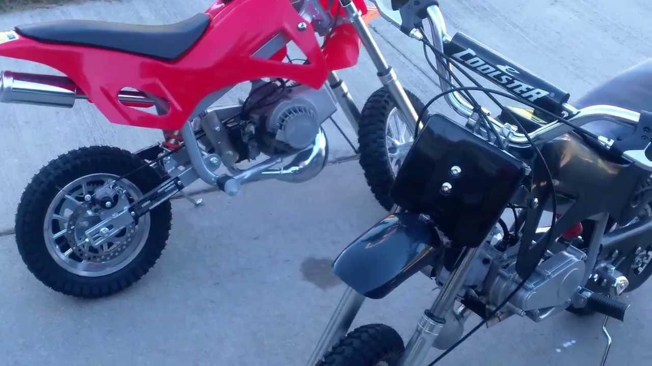 Fast 49cc Pocket Dirt Bike Youtube