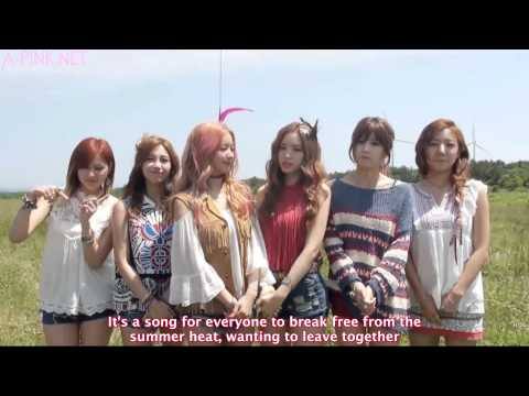 [APINKSUBS][150716] A Pink's Message for Naver Music