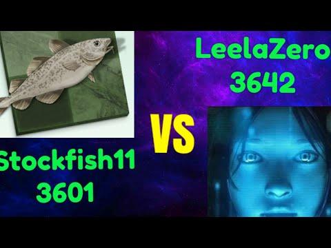Stockfish 11(3601) vs Leela chess Zero (3642) 5+3 Blitz
