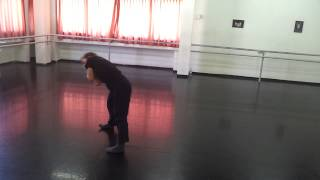 Kaja Lin short choreography in process