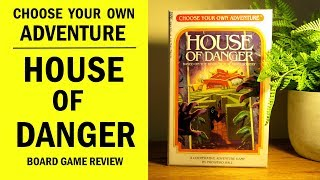 Choose Your Own Adventure: House of Danger Board Game Review & Runthrough