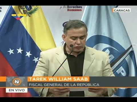 Fiscal General Tarek William Saab sobre corrupción en Centro de Refinación Paraguaná, 20 marzo 2018