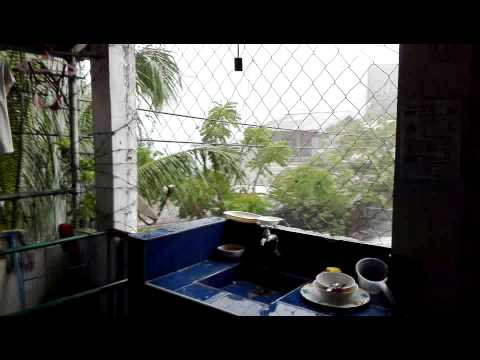 unexpected heavy rain w/ thunderstorms July 31 2015