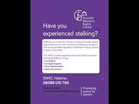 Stalking - Police Scotland