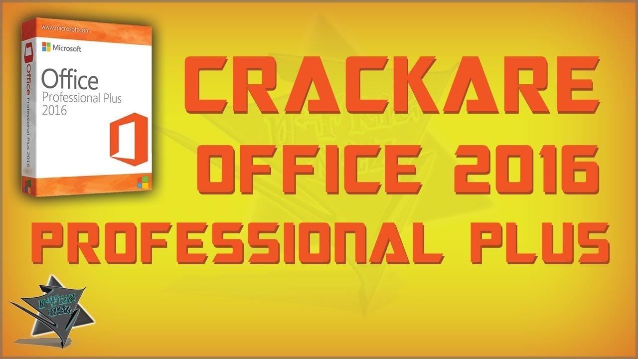 SCARICARE OFFICE 2016 CRACCATO