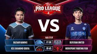 BZ vs BRUTD | KOG vs WPE - Tuần 7 - RPL Thái Lan Mùa 4 - Garena Liên Quân Mobile