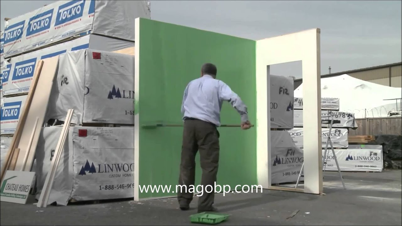 Magnesium Oxide Board Product : Magnum board magnesium oxide board youtube