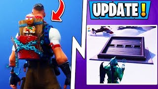 *NEW* Fortnite Update! | Secret Final Gift, Snow Bunker, Live Event!