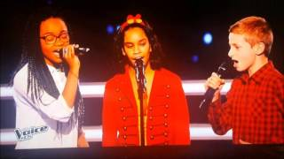 The Voice Kids [France] 2015 : the battles by Jane, Theo et Naomie