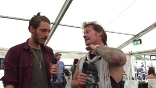 Fozzy Interview Download Festival 2017