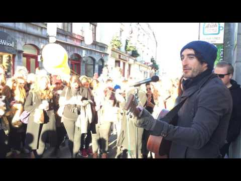 Danny O'Reilly - Heroes or Ghosts (Busking, Galway Ireland)