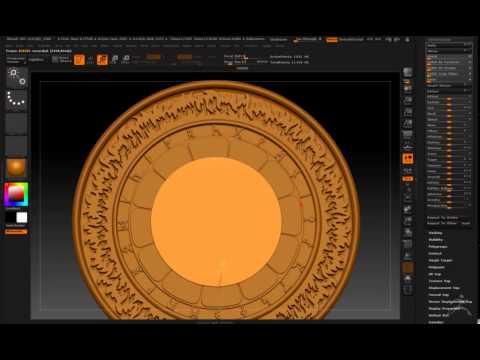 Making the Desert Dwellers Pendant from Logo in Zbrush