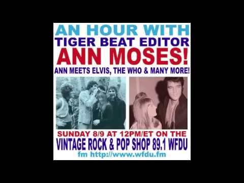 VR&PS: Ann Moses (Tiger Beat editor) interview on WFDU