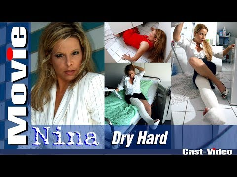 "Cast-Video.com  - Nina - ""Dry Hard"" - LLC - Movie - FREE PREVIEW"