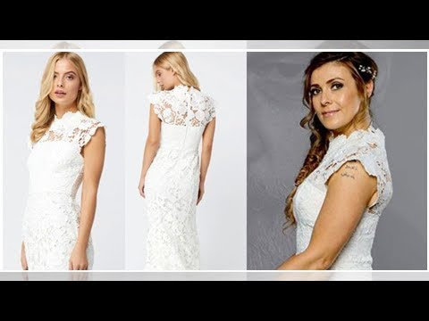Coronation Street Michelle Connor Wedding Dress Kym Marsh S Character Bridal Gown For Dramatic