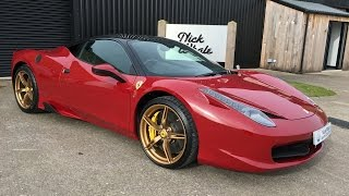 For sale - Ferrari 458 Italia 4.5 DCT. Nick Whale Sports Cars