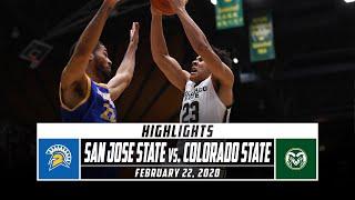 San Jose State vs. Colorado State Basketball Highlights (2019-20) | Stadium