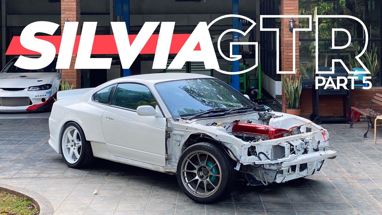 Pasang Tomei Oil Baffle, Custom Oil Pan dan Fabrikasi Chassis   Project Silvia RB26 Part 5