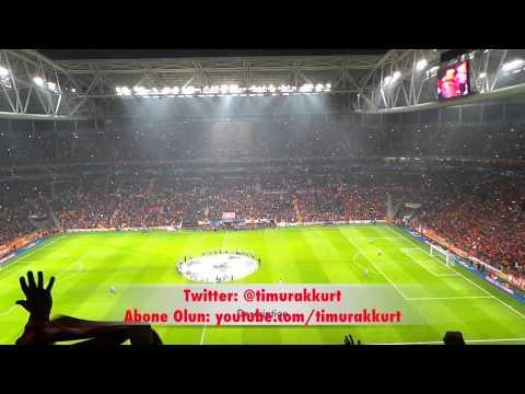 Galatasaray-Chelsea Maç Önü, intikam marşı ve tribün show başlıyor...En iyilerden biri