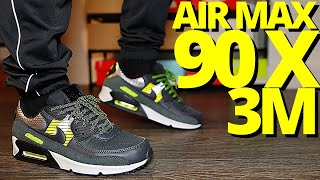 Nike Air Max 90 X 3M On Foot Review