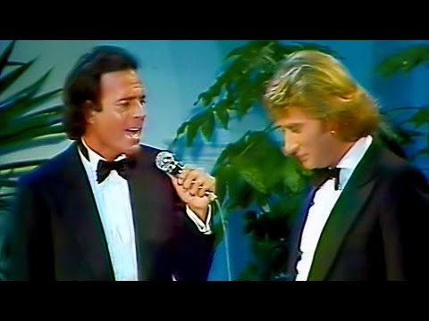 Julio Iglesias & Johnny Hallyday - Me olvide de vivir (Remastered)