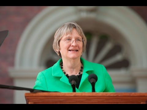 Harvard President Drew Gilpin Faust Speech | Harvard Commencement 2016