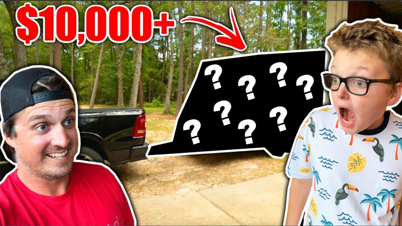 Surprising My Son with His DREAM Birthday Present!! (SHOCKED)