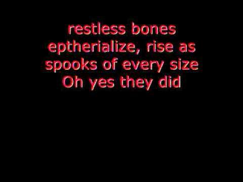 Grim Grinning Ghosts Lyrics
