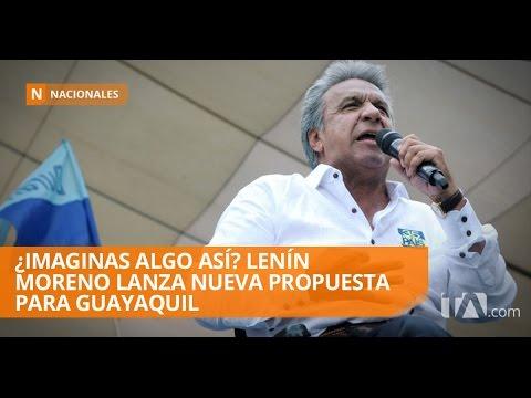 Lenín Moreno promete el tren magnético rápido para Guayaquil