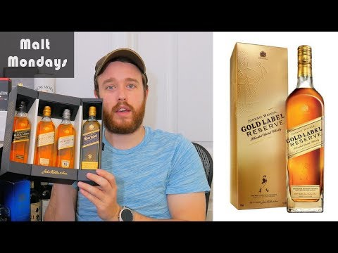 Johnnie Walker Gold Label Reserve Review: Whisky Review #42
