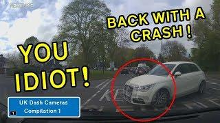 UK Dash Cameras - Compilation 1 - 2018 Bad Drivers, Crashes + Close Calls