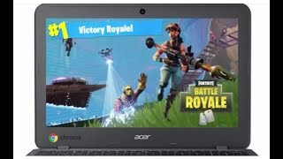 How To Get FORTNITE On Chromebook *NOT CLICKBAIT* *100% WORKING*