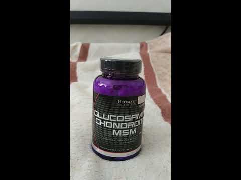 Витамины Ultimate Nutrition Glucosamine & CHONDROITIN, MSM - 90 таблеток (099071006080)