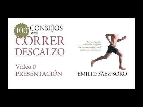 Canal de vídeo de 100 consejos para correr descalzo