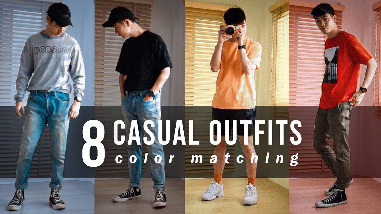 8 ไอเดียแต่งตัวด้วยเสื้อผ้า 3 คู่สี เรียบง่าย เท่ชัวร์! | Here's Jae x Swatch