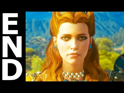 The Witcher 3 Blood and Wine Best Ending - Syanna Forgives To Anna Henrietta (No One Dies)