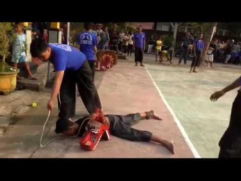 Putro Arjokoyo Sejati Extreme art from Indonesia live @Jl. Hamid Rusdi III-Bunul, Malang 13/05/2018