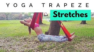 Yoga Trapeze Stretches - Video 3 for Beginners